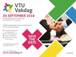 Uitnodiging VTU Vakdag 2018